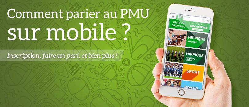 pari mobile pmu