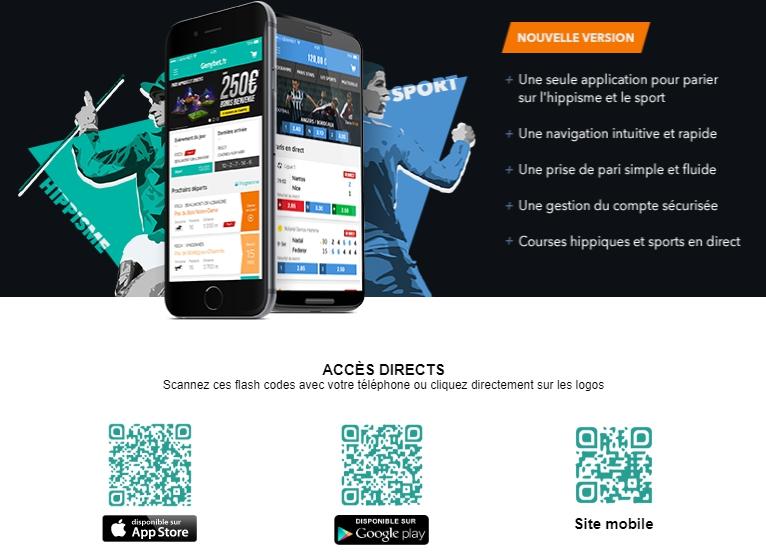 GenyBet Téléchargez l'application